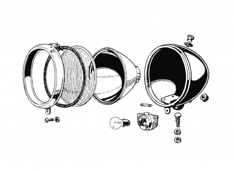 Headlamps, indicators