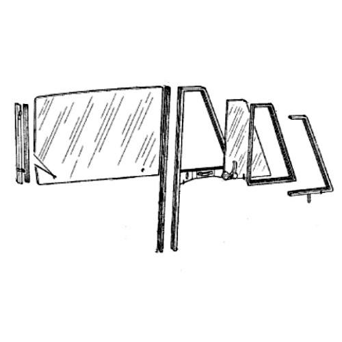 door panes and hang-on parts