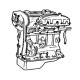 Motor und Teile
