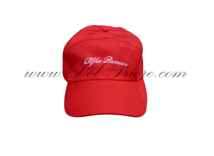Cap with Alfa emblem