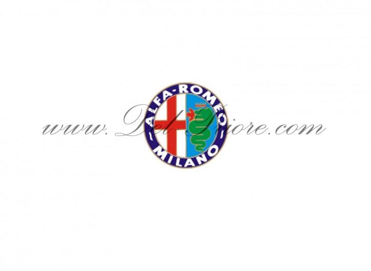Alfa emblem (attachable) for car-cover, Ø  29 cm, colored