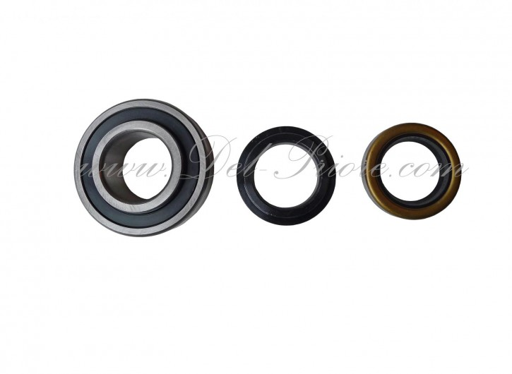 set wheel bearing, rear RH or LH 1300-2000, with oil seal + shrink collar