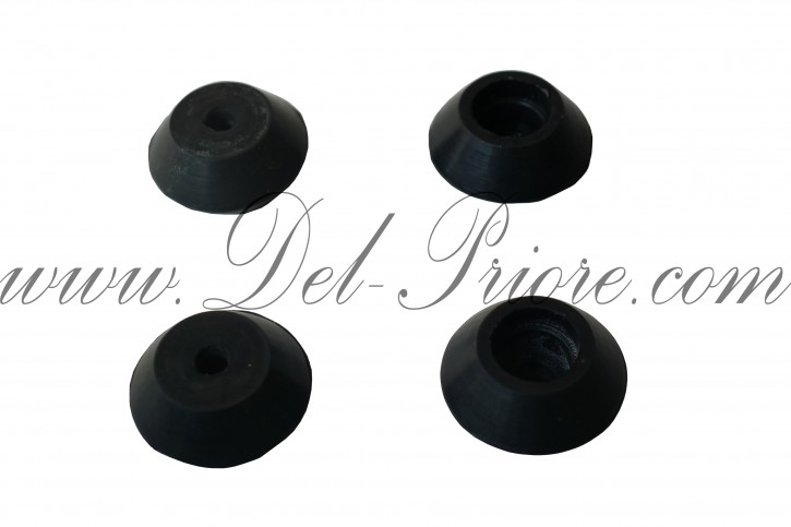 Set of rubber stoppers  (4) for the bonnet, Spider 1600