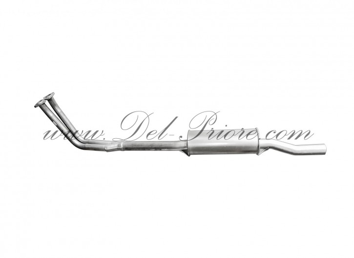 Anterior exhaust with presilencer, Sprint, Spider 2600
