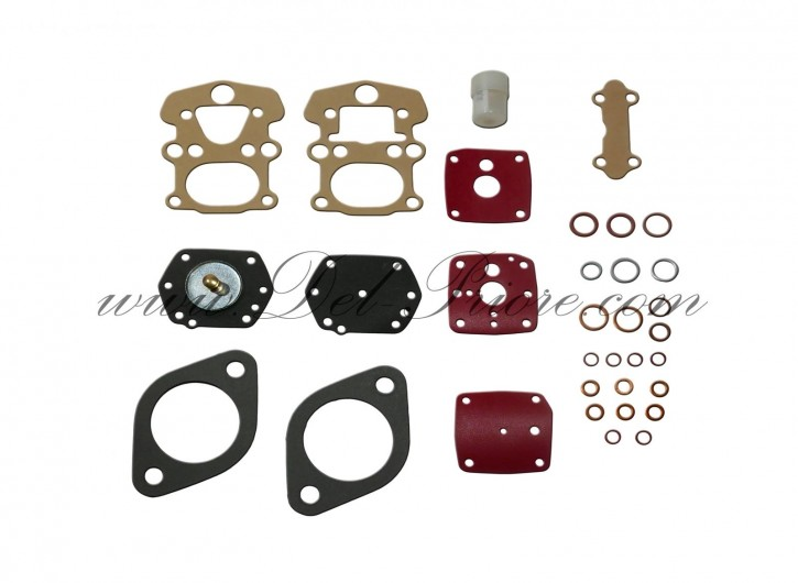 Repair kit for one carburetor, 2000/2600