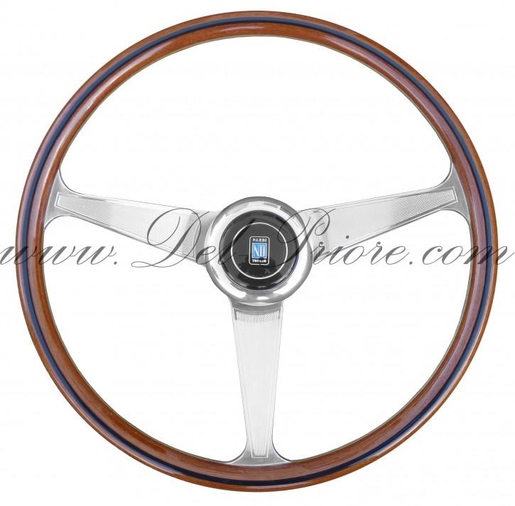 Wooden steering wheel, Nardi Classico Anni 60