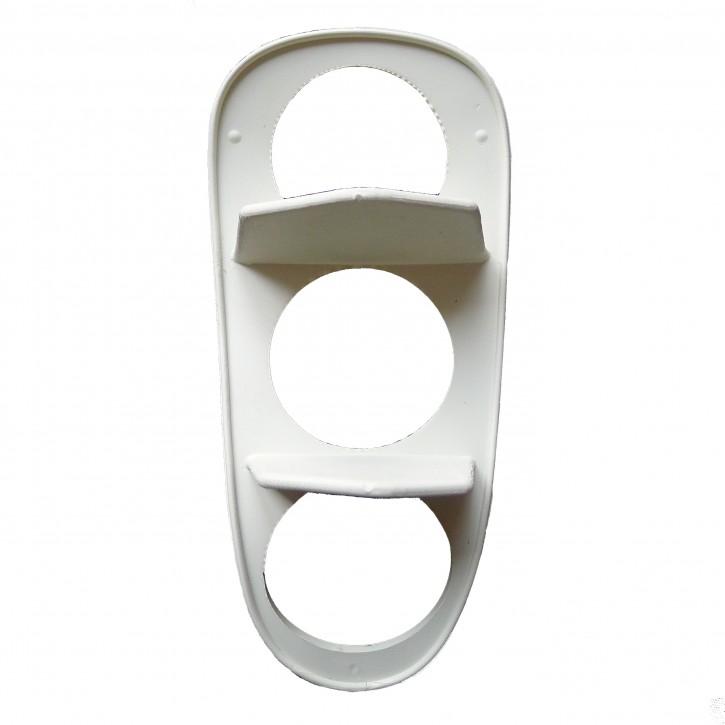 White rubber gasket for rear light glas