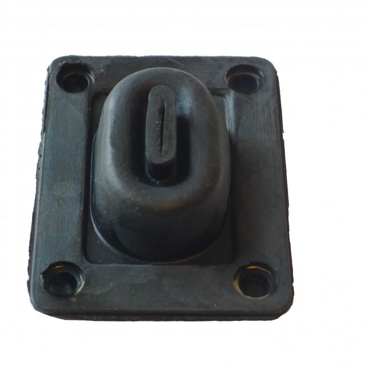 Feedthrough-rubber for accelerator pedal