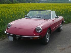 price list Alfa Spider