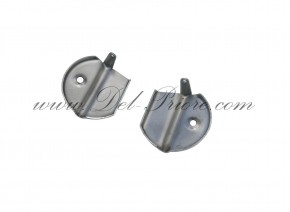 Set of chromed covers for windshield-angles Spider